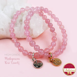 HIGH GRADE MADAGASCAN ROSE QUARTZ