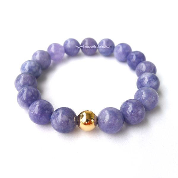 Angelite Power Gemstone Bracelet