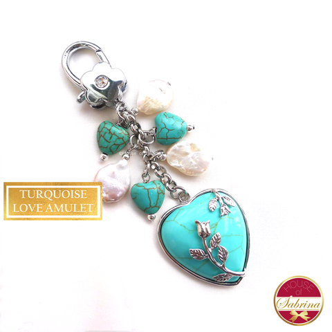 Turquoise Love Amulet