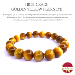 High-Grade Golden Yellow Tiger's Eye (10mm)