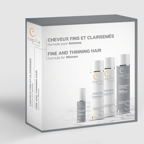 FINE AND THINNING HAIR KIT FOR WOMEN