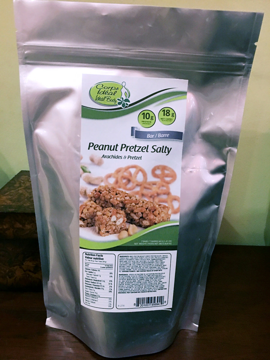 Peaut Pretzel Salty Bar