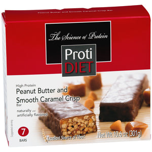 Smooth Caramel and Peanut Bar