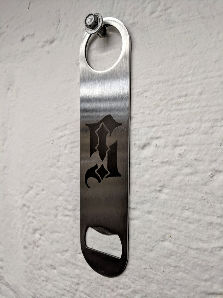 Barblade™ Professional Steel Bottle Opener. Sale