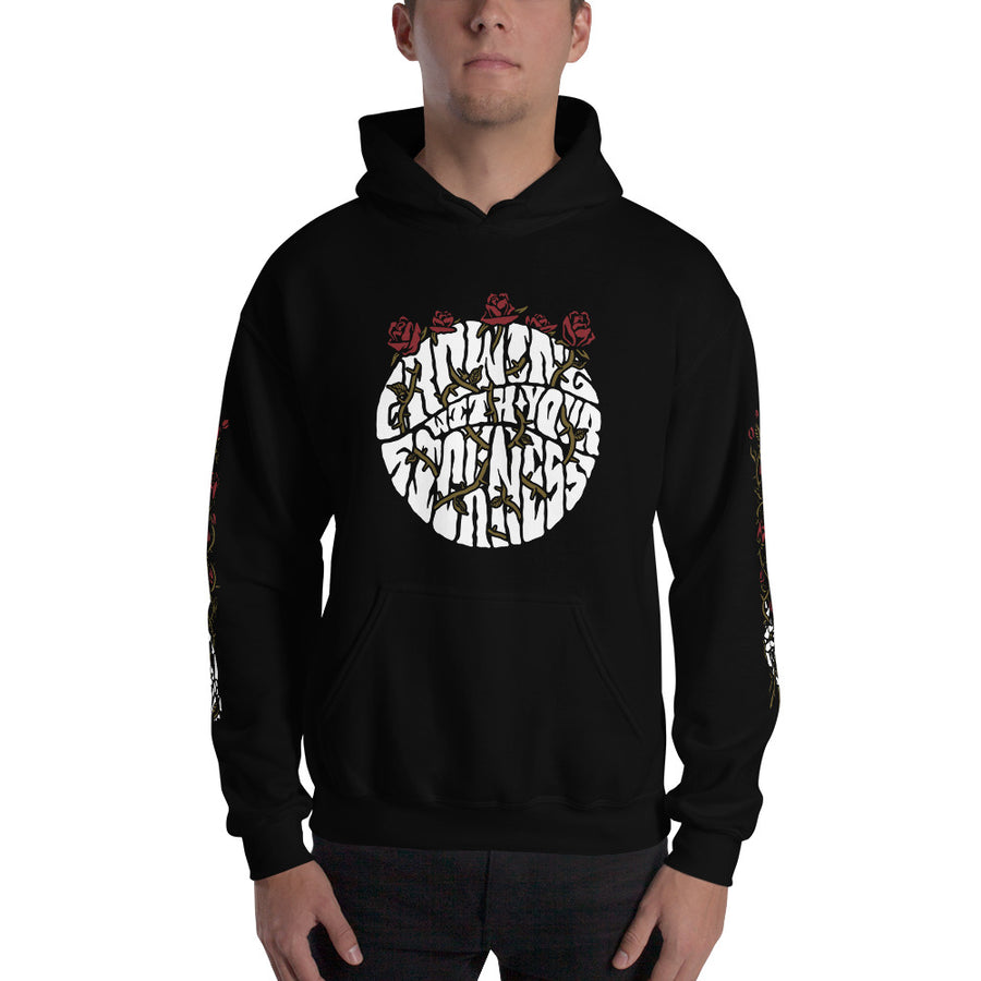 Growing with the sickness - Hooded Sweatshirt