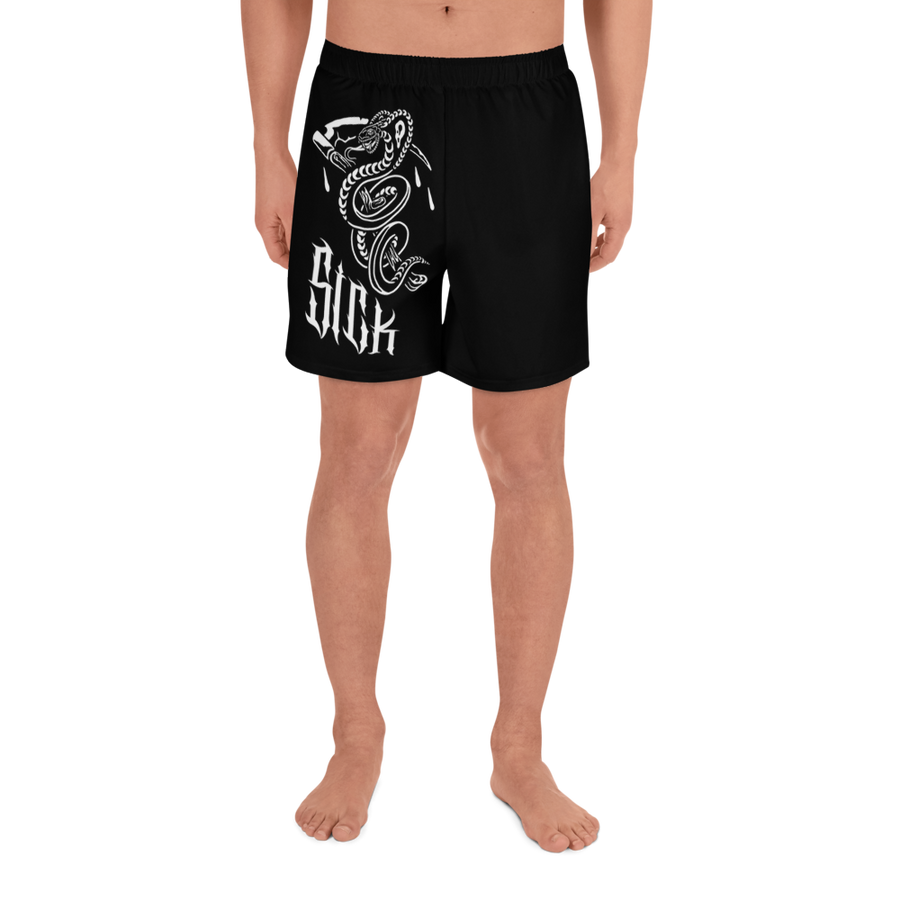 SICK BOIS - Men's Athletic Long Shorts