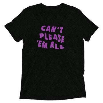 Can't Please Em All - Purple - sleeve t-shirt