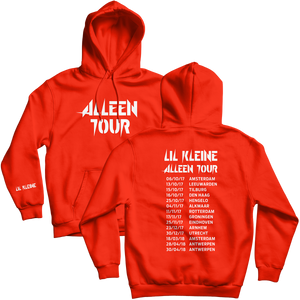 Alleen Tour Hoodie Red