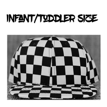 Plain Checkered Hat Choose Style/Size!