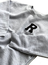Kids Varsity Letter Crew Pullover (Various Colors)