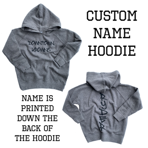 Custom Name Hoodie (back design)