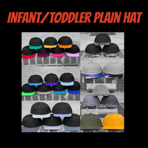 Infant/Toddler Plain Hat
