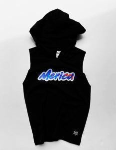 Kids Hooded Muscle Tank