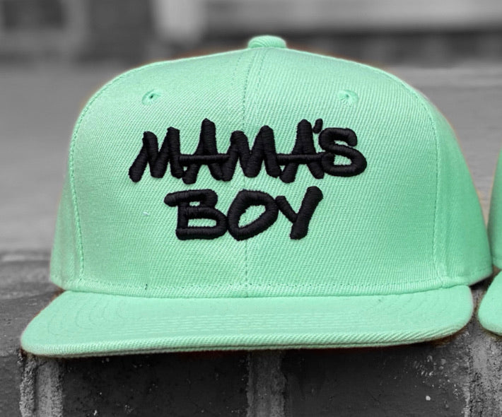 Infant/Toddler Mama's Boy Ice Green/Black