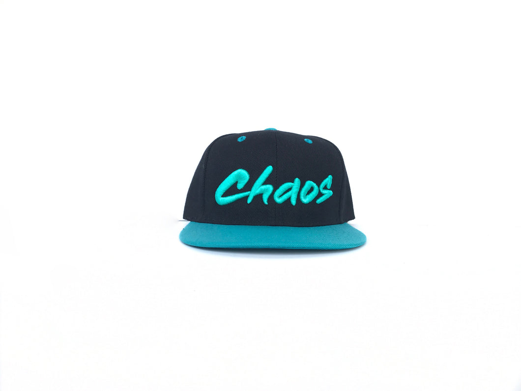 Kids Black/Teal Chaos