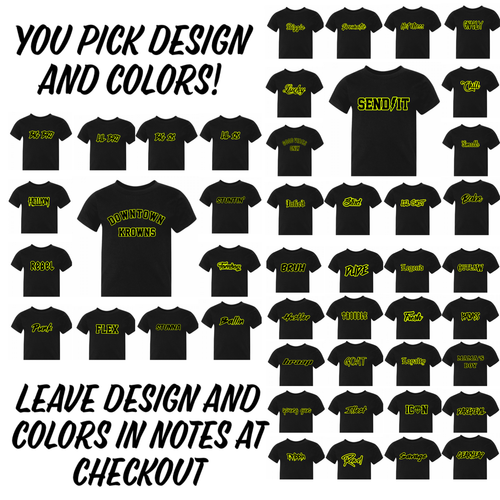 You Choose Design Outline Tee