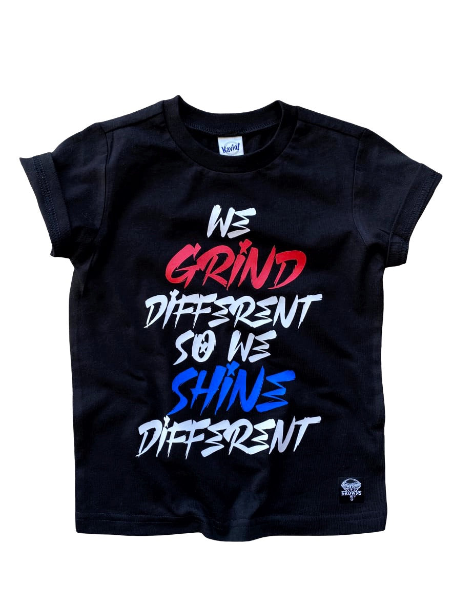 We Grind Different Tee