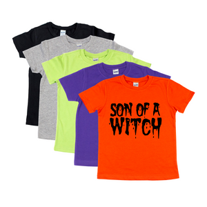 Kids Son of a Witch Tee