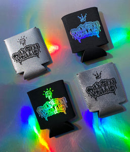 DK Can Koozie Silver & Holo