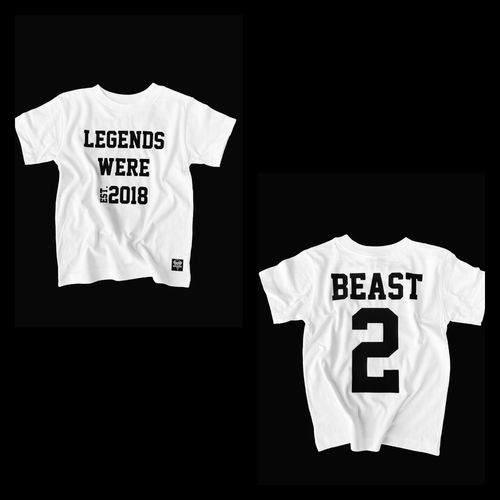 LEGEND EST. Custom Birthday Tee