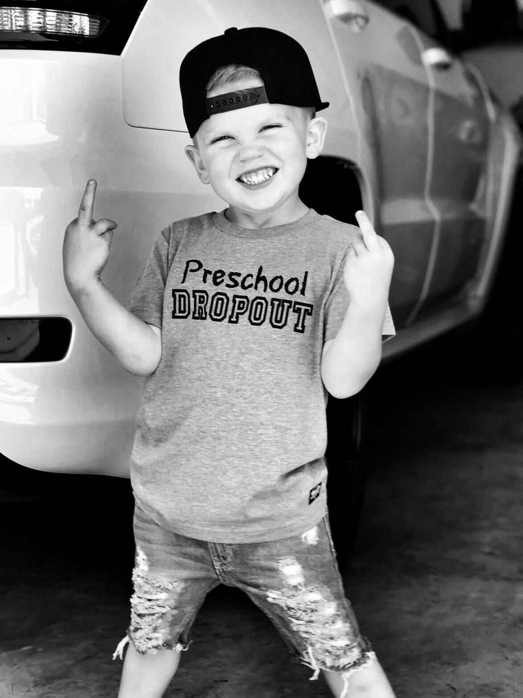 Kids Preschool Dropout Tee