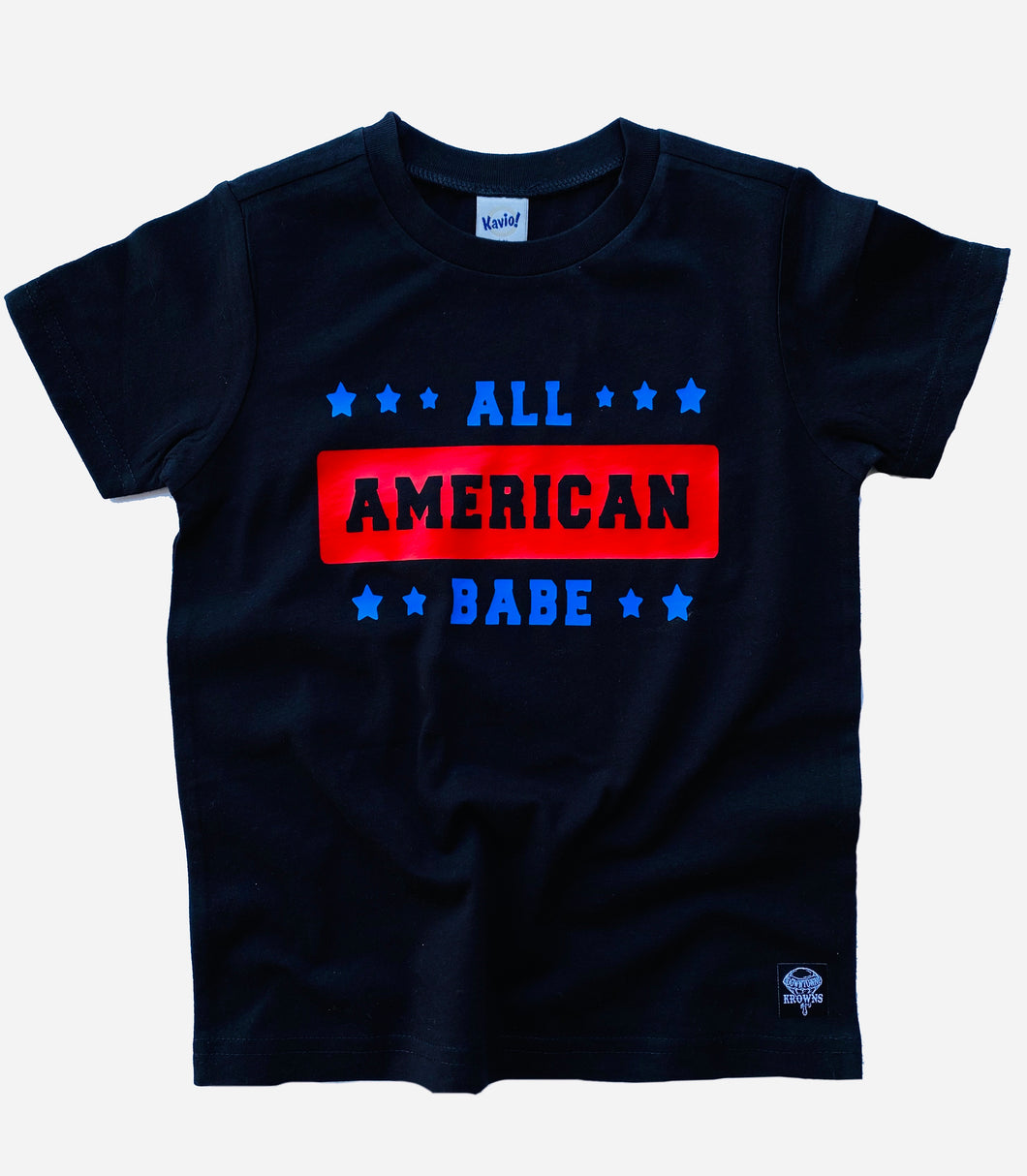 Kids All American Babe Tee