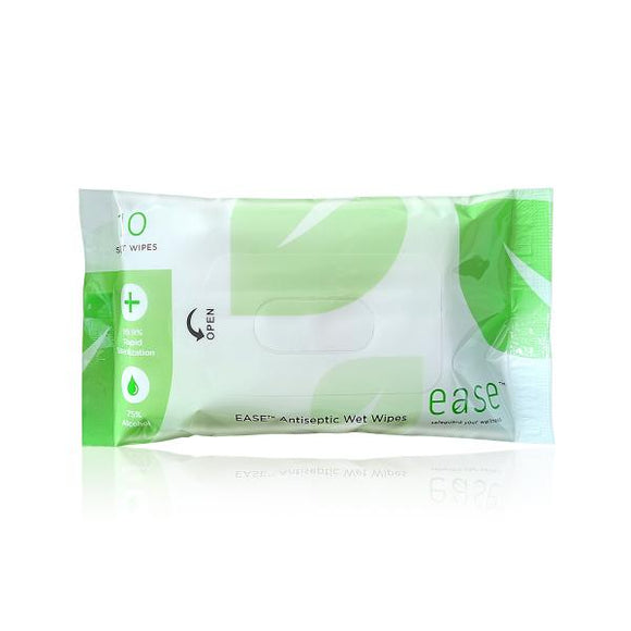 10'S ANTISEPTIC WET WIPES