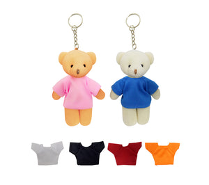 13cm Key-Chain Teddy Bear With Tee