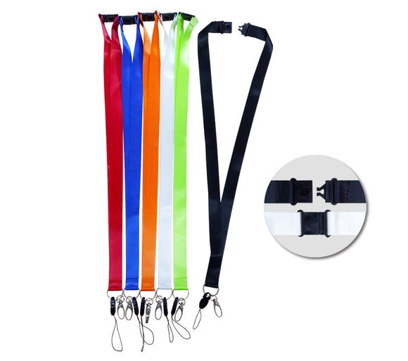 20mm Safety Breaker Lanyard with HP & metal clip