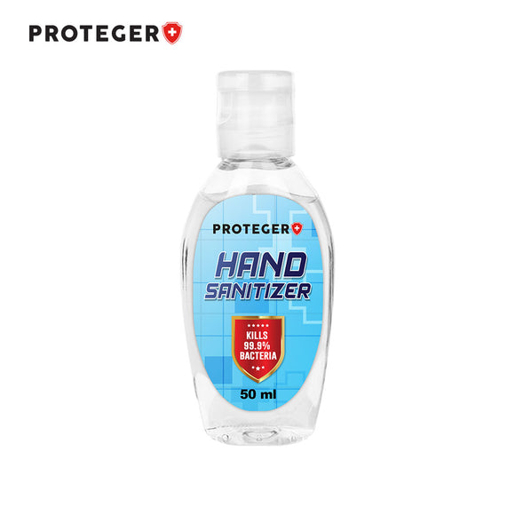 Proteger Gel Hand Sanitizer 50ml (70% Ethyl Alcohol)