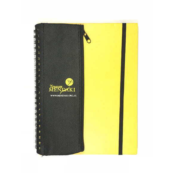 Customised Notepad with Pencil Case