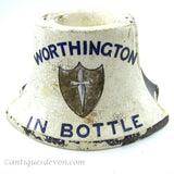 1900 Worthington Brewery Pub English Advertising Match Holder Striker