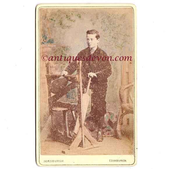 1860s Scottish Cricket Player CDV Photo by John Horsburgh Photographer