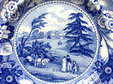 c. 1815 Claremont Surrey Plate-Royal-Princess Charlotte-British Views