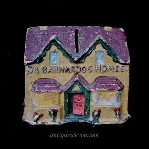 c. 1950's Dr. Barnardo's Homes Donation Bank, Charity Collection Box UK