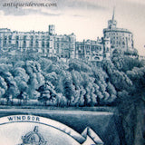 1887 Queen Victoria 50 year Golden Jubilee 4 Castles Plate by FW Grove