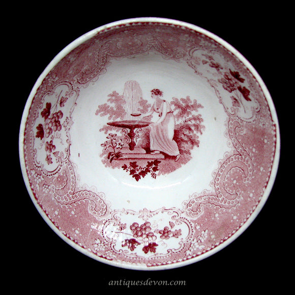 1820's Red Transfer Romantic