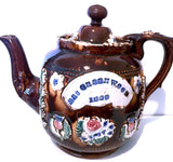 https://antiquesdevon.co.uk/products/1883-mrs-greenwoods-victorian-bargeware-sprigged-stoneware-teapot