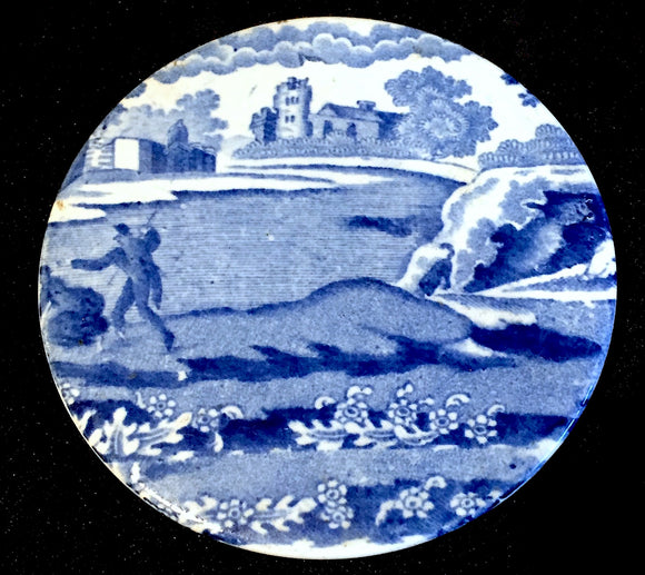 1820's Blue & White Transferware