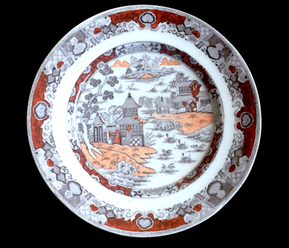 1860's Ashworth A Bros Ironstone