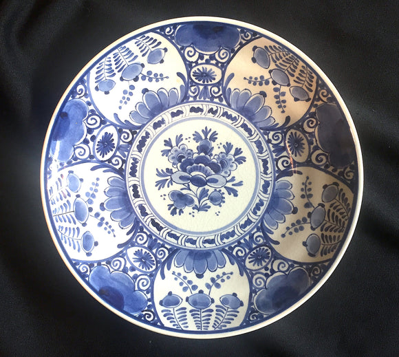 1954 dated Royal Delft Dutch Blue & White 9