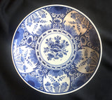 "1954 dated Royal Delft Dutch Blue & White 9"" Wall Hanging Plate"