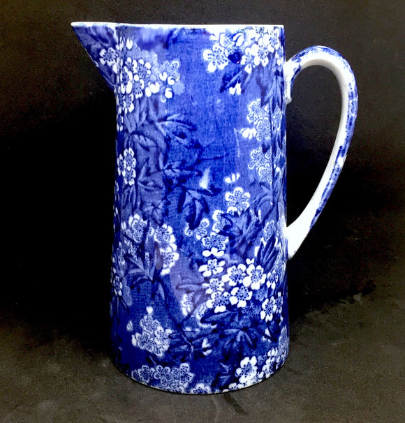 1930's Leighton Pottery May Blossom Chintz Jug: Bourne and Leigh Co.