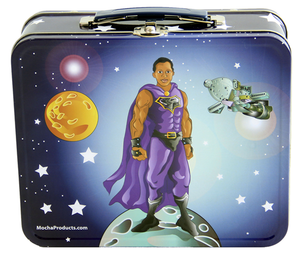 Black Superhero Lunchbox