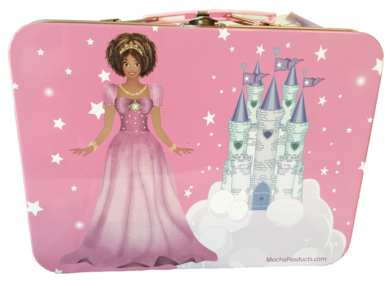Black Princess Lunchbox