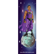 2 Pack Black Superhero Bookmarks