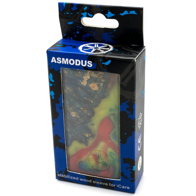 Asmodus Custom Made iCare 650mAh Stabilized Wood Sleeve