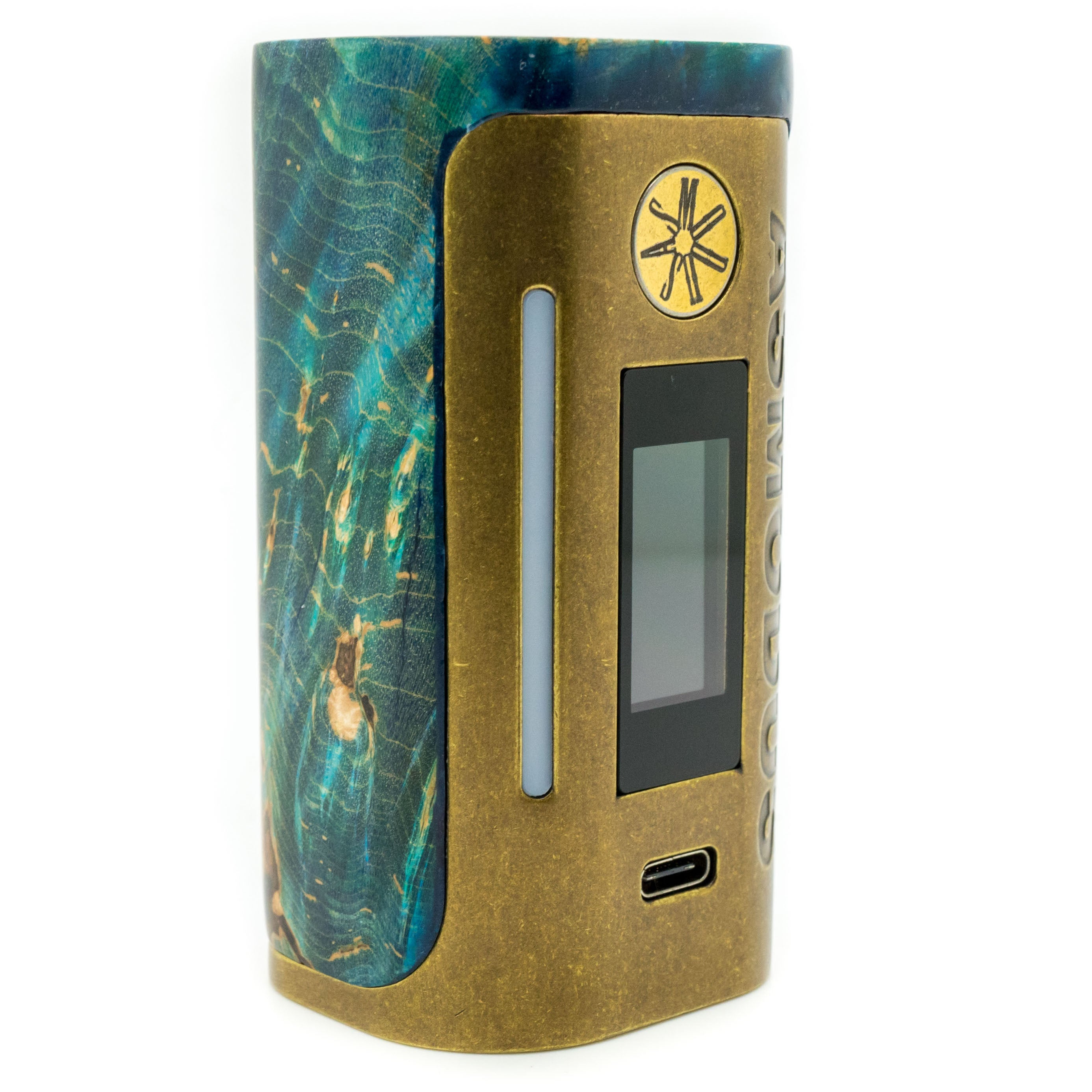 Custom Lustro 200w Stabilized Wood Mod Brass Relic Edition