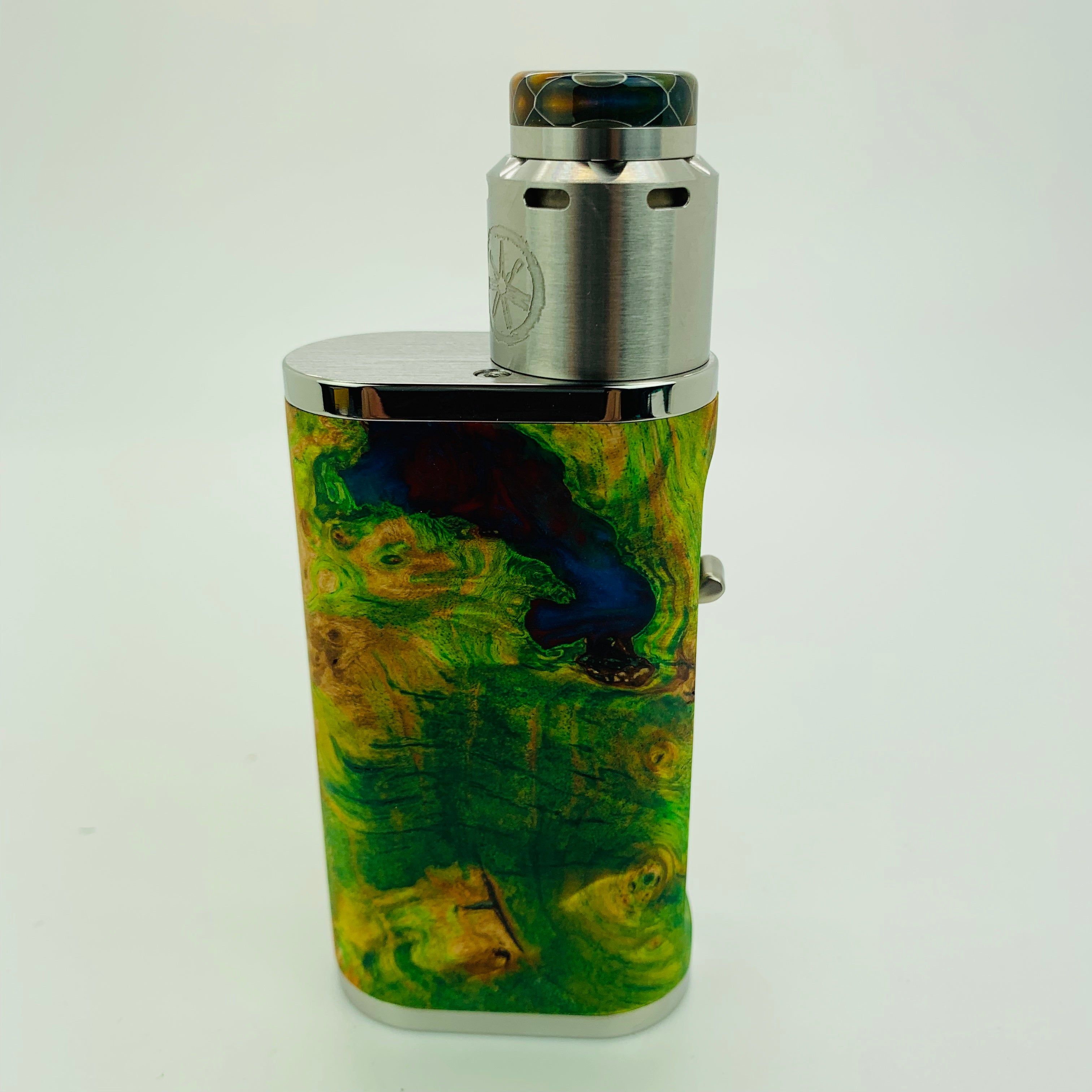 1 of 1 Pumper 18 Squonk Kit with .Blank RDA and Honeycomb Drip Tip #K11