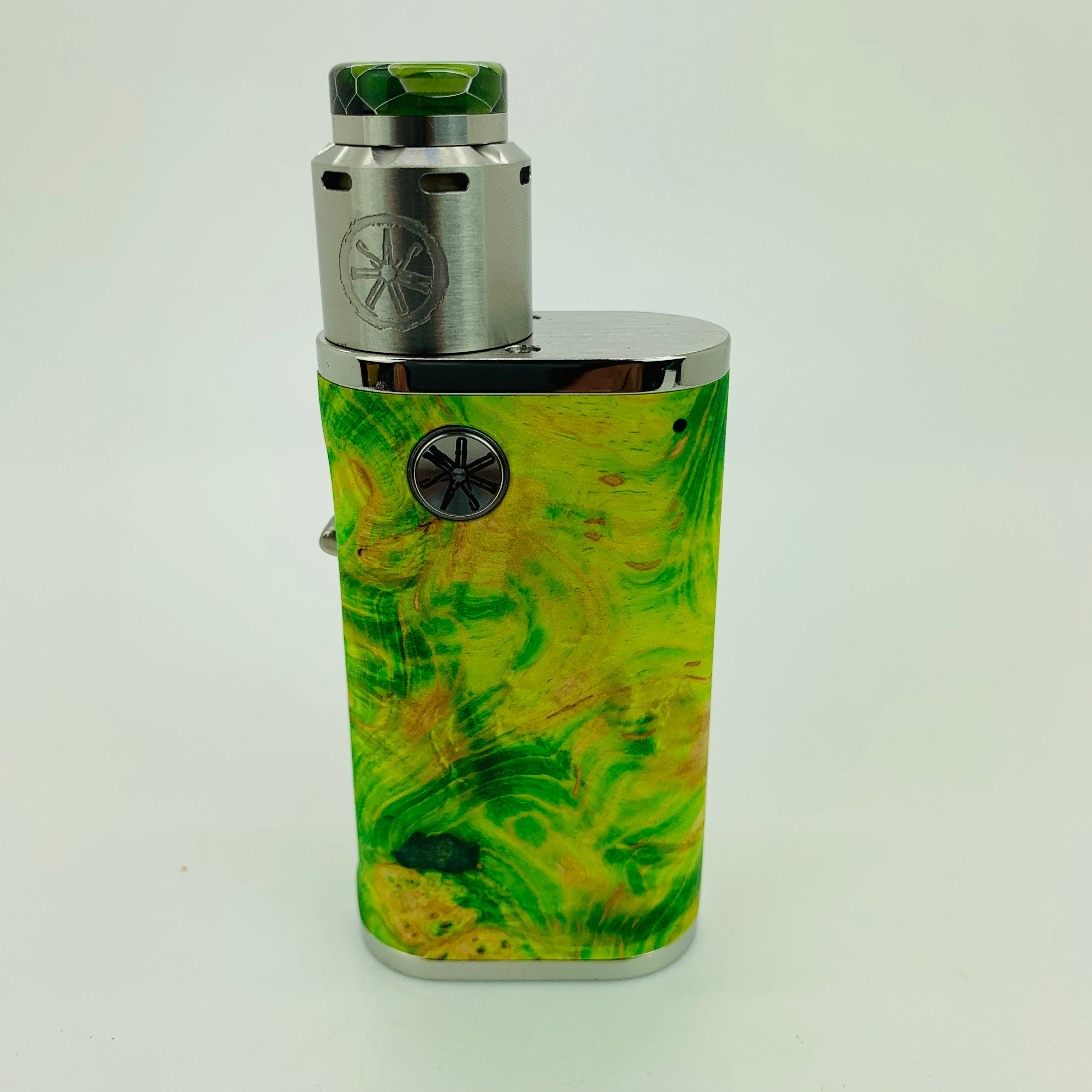 1 of 1 Pumper 18 Squonk Kit with .Blank RDA and Honeycomb Drip Tip #K23